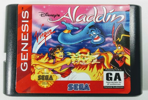 Aladdin - Mega Drive
