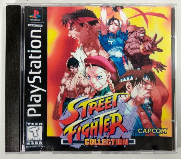 Street Fighter Collection Disc 1 [REPLICA] - PS1 ONE