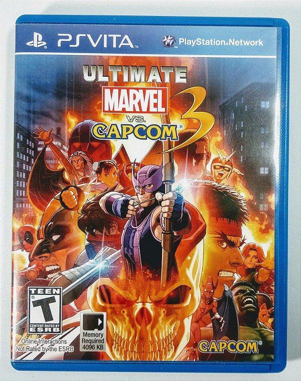 Jogo Ultimate Marvel vs Capcom 3 - PS Vita