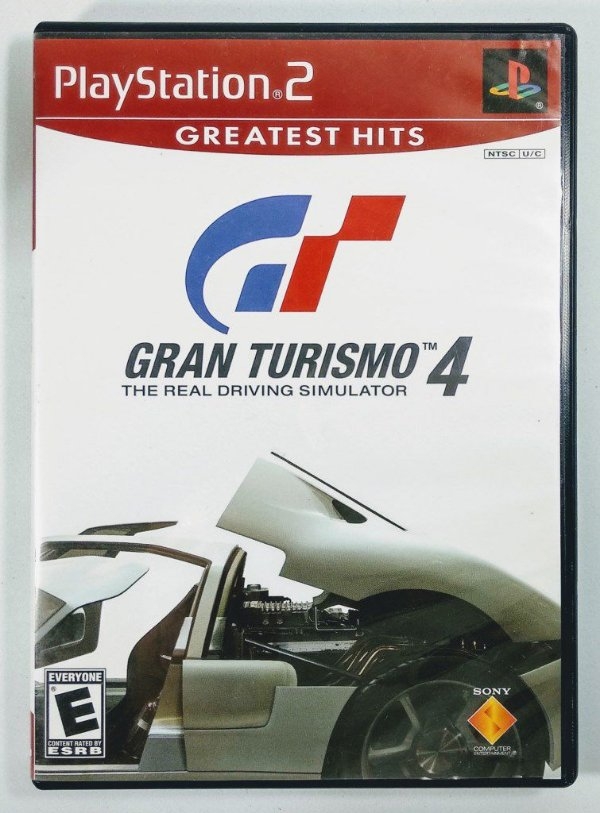 Jogo Gran Turismo 4 Original - PS2