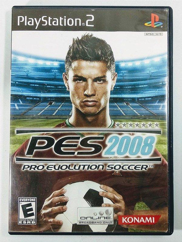 Jogo PES Pro Evolution Soccer 2008 Original - PS2