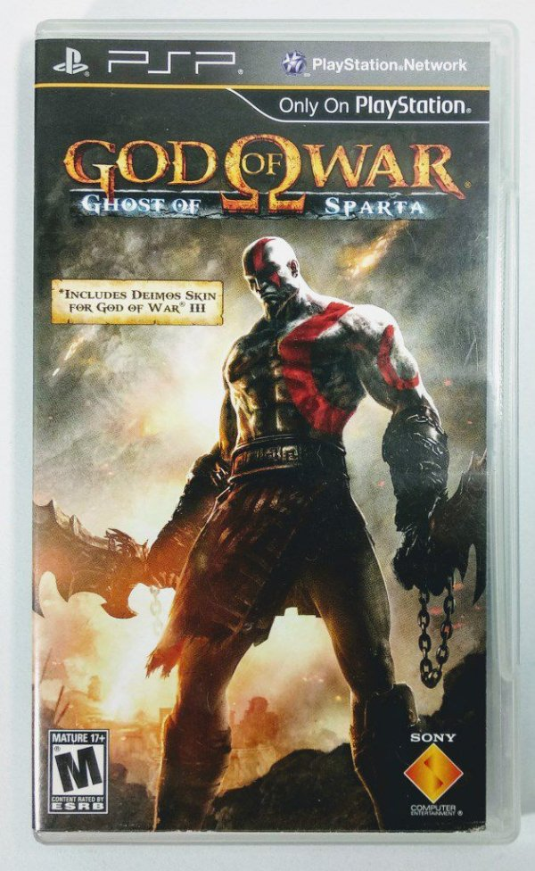 Jogo God of War Ghost of Sparta Original - PSP