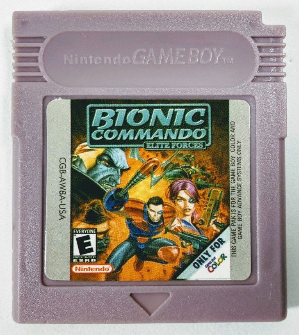 Jogo Bionic Commando: Elite Force - GBC