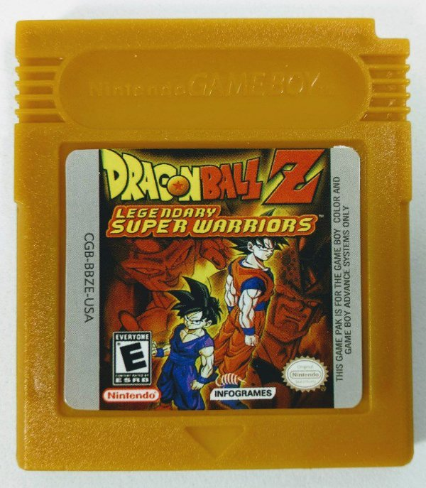 Jogo Dragon Ball Z Legendary Super Warriors - GBC