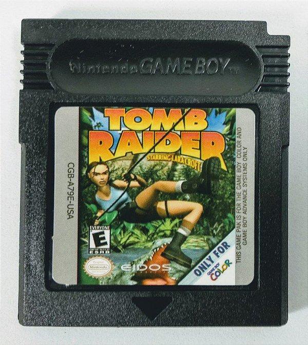 Jogo Tomb Raider - GBC