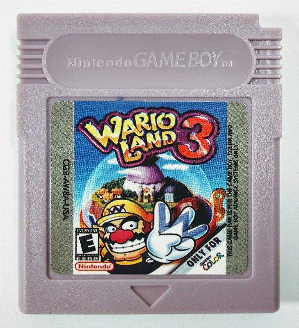 Jogo Wario Land 3 - GBC