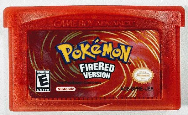 Jogo Pokemon Firered Version - GBA