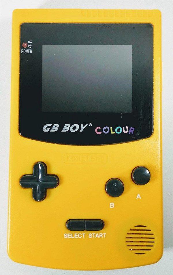 Game Boy Color (clone) com 66 jogos - GBC