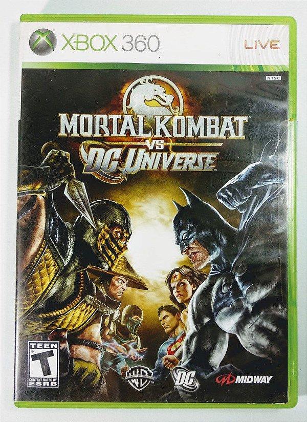 Jogo Mortal Kombat vs DC Universe - Xbox 360