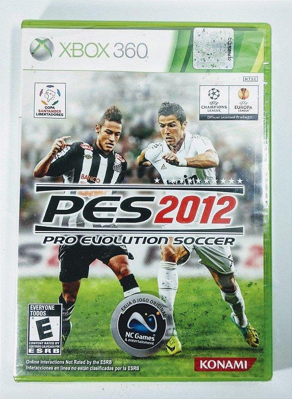Jogo PES 2012 (Lacrado) - Xbox 360