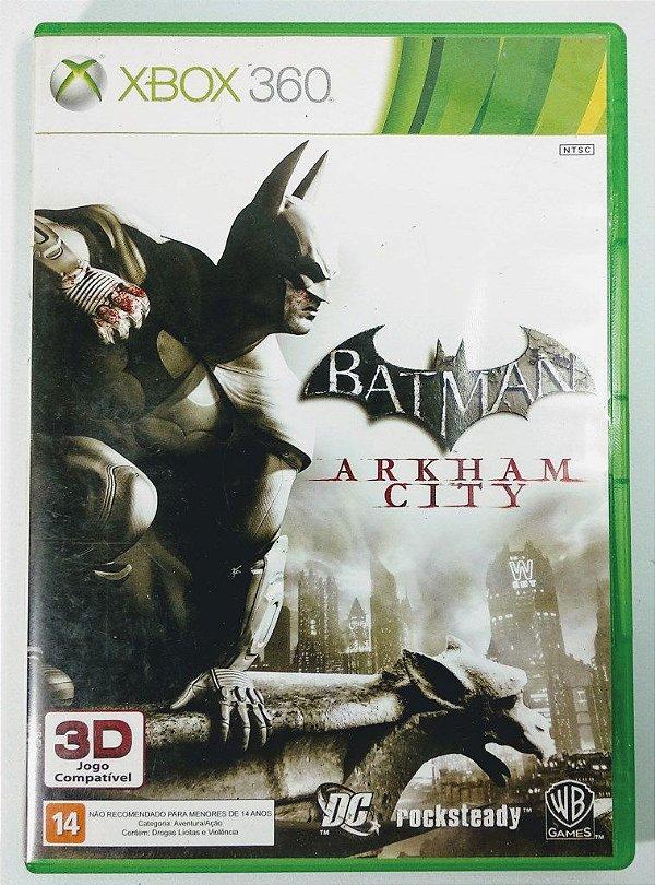 Jogo Batman Arkham City - Xbox 360