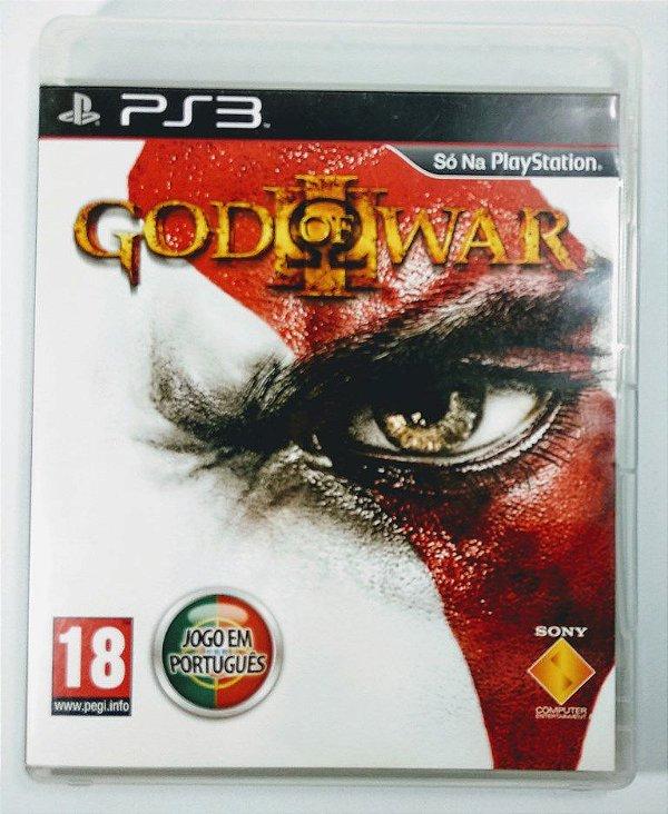 Jogo God of War III - PS3