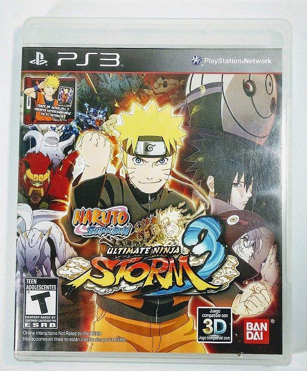 Jogo Naruto Shippuden Ultimate Ninja Storm 3 - PS3