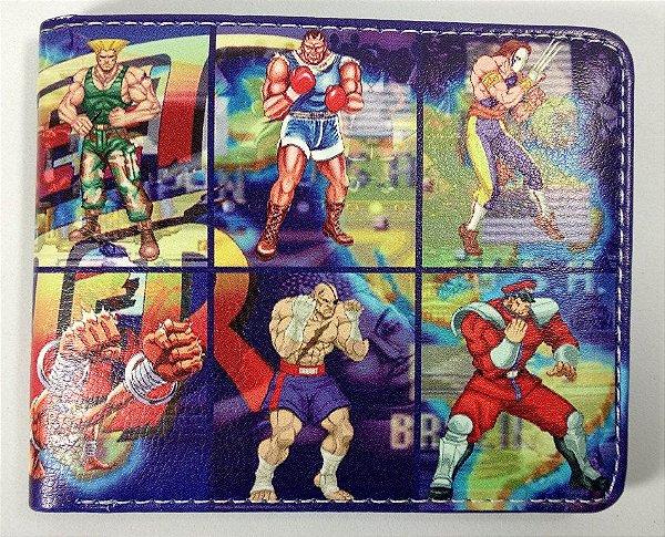 Carteira Personalizada Street Fighter II