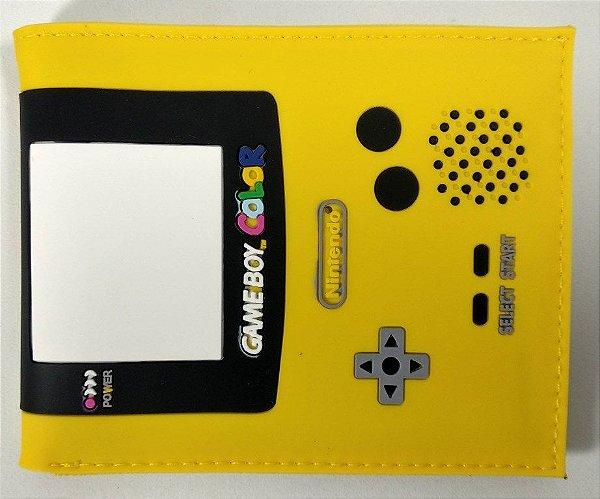 Carteira Personalizada Game Boy Color