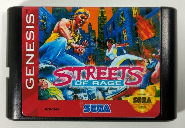 Jogo Streets of Rage - Mega Drive
