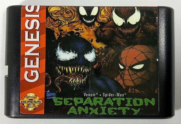 Jogo Spider-man Separation Anxiety - Mega Drive