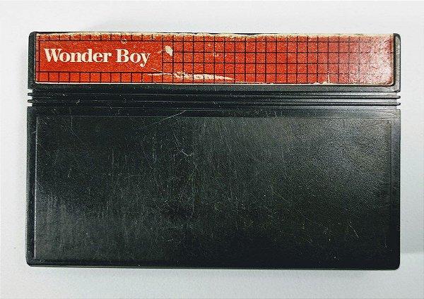 Jogo Wonder Boy - Master System