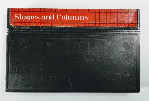 Jogo Shapes and Columns - Master System