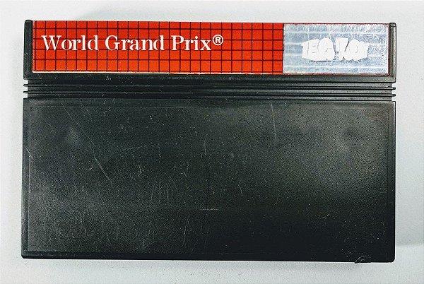 Jogo World Grand Prix - Master System