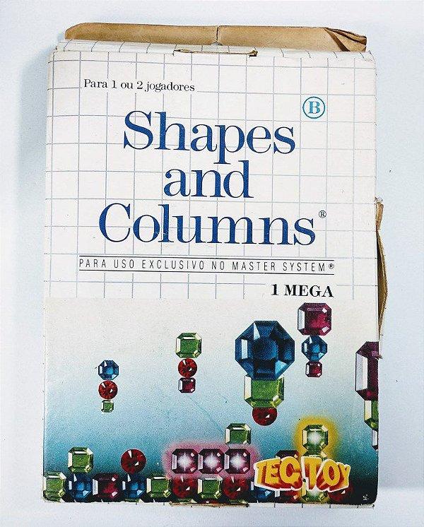 Jogo Shapes and Columns - Master System