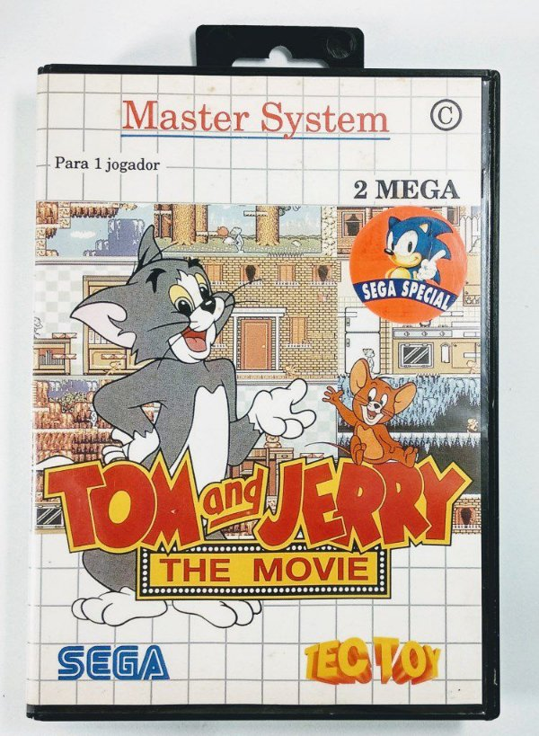 Jogo Tom and Jerry the Movie - Master System