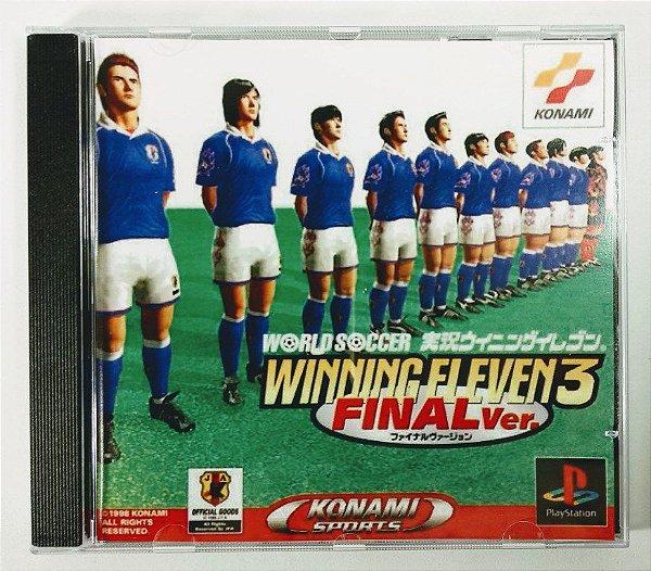 Winning Eleven 3 Final Ver. [REPLICA] - PS1 ONE