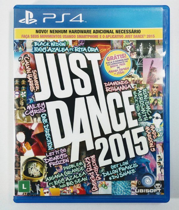 Jogo Just Dance 2015 - PS4