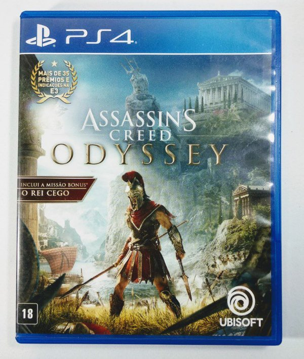 Jogo Assassins Creed Odyssey - PS4