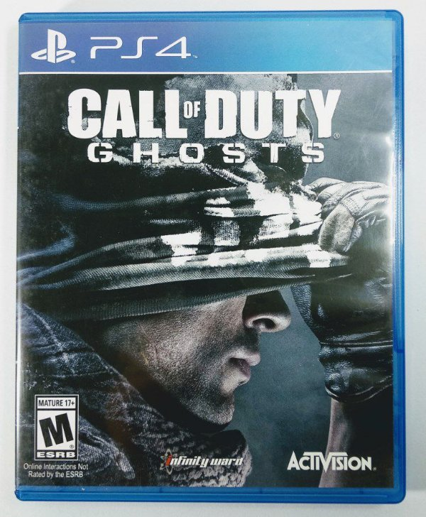 Jogo Call of Duty Ghosts - PS4