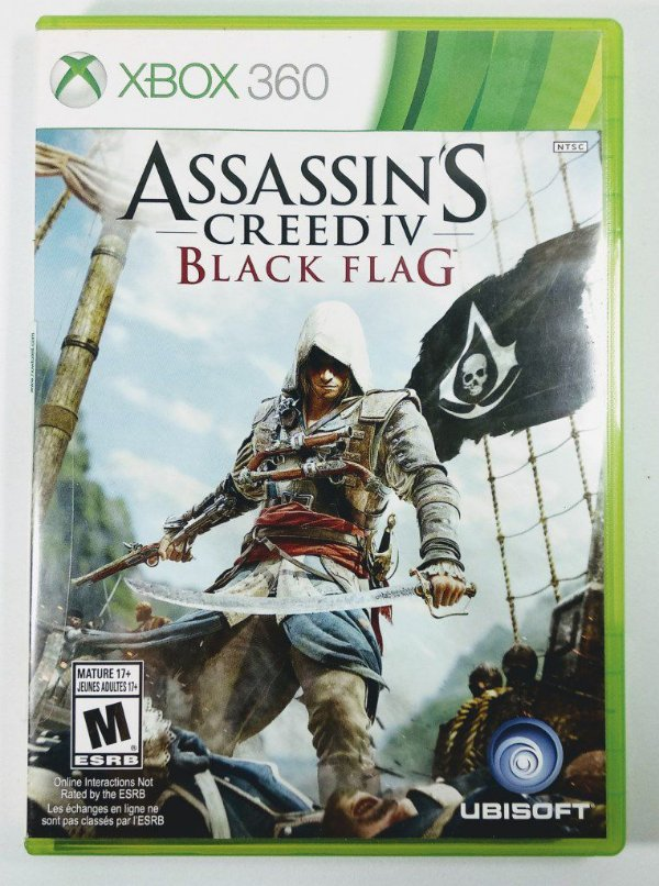 Jogo Assassins Creed IV Black Flag - Xbox 360