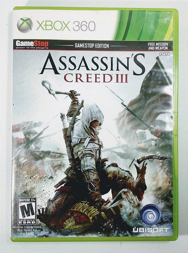 Jogo Assassins Creed III - Xbox 360