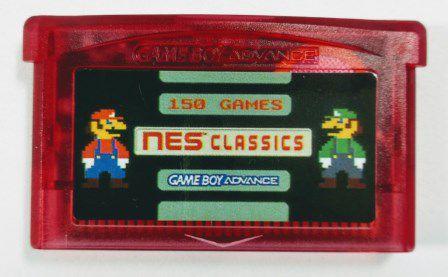 150 in 1 Nes Classics - GBA