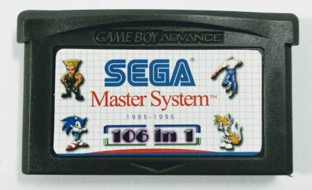 106 In 1 Master System - GBA