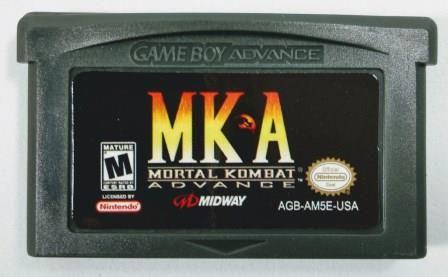 Jogo Mortal Kombat Advance - GBA