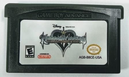Jogo Kingdom Hearts Chain of Memories - GBA