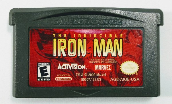 Jogo The Invincible Iron Man Original - GBA