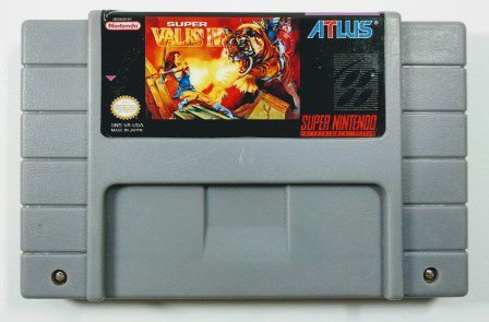 Jogo Super Valis IV - SNES