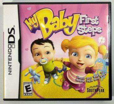 Jogo My Baby First Steps Original - DS