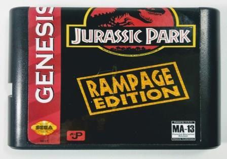 Jogo Jurassic Park Rampage Edition - Mega Drive