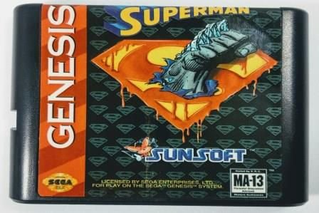 Jogo The Death And Return Of Superman - Mega Drive