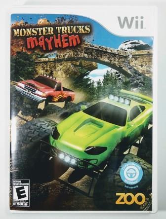 Jogo Monster Trucks Mayhem - Wii