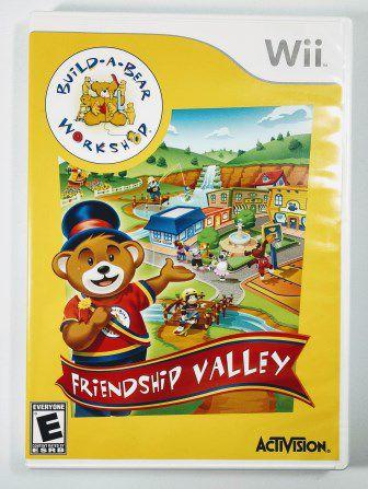 Jogo Build-a-Bear Workshop Friendship Valley - Wii