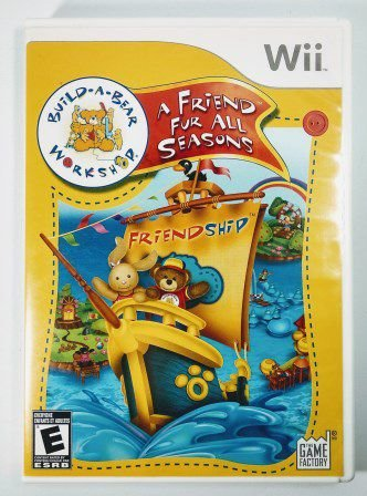 Jogo Build-a-Bear A Friend Fur All Seasons - Wii