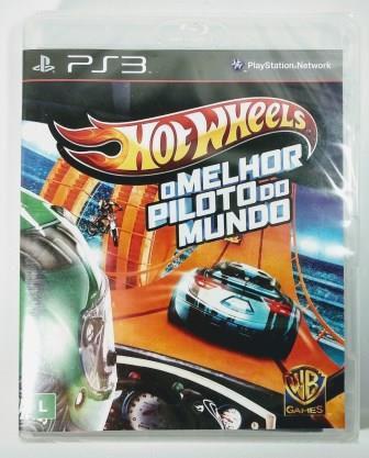 Jogo Hot Wheels: o Melhor Piloto do Mundo (Lacrado) - PS3