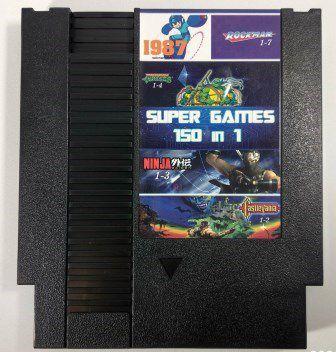 Super Games 150 in 1 - NES