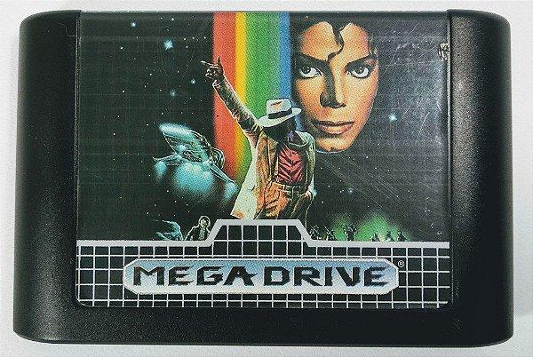 Jogo Moonwalker original - Mega Drive