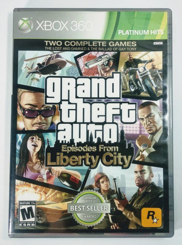 Jogo Grand Thef Auto GTA Ep. from Liberty City - Xbox 360