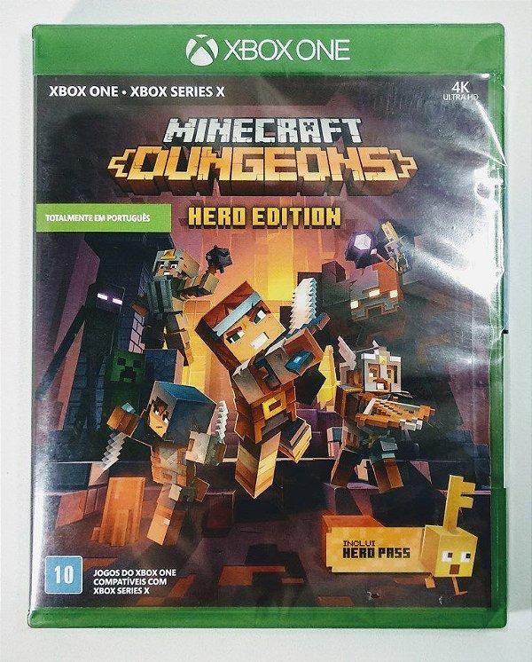 Jogo Minecraft Dungeos Hero Edition (Lacrado) - Xbox One