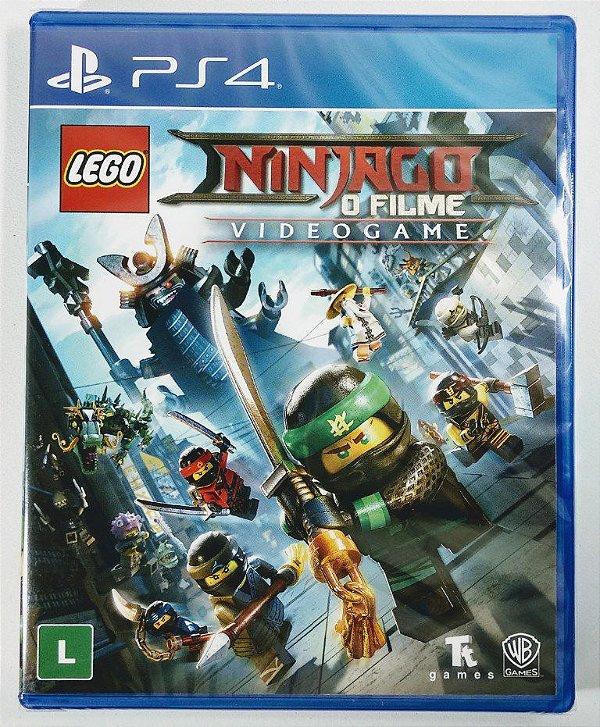 Jogo Lego Ninjago: O filme - Videogame (lacrado) - PS4
